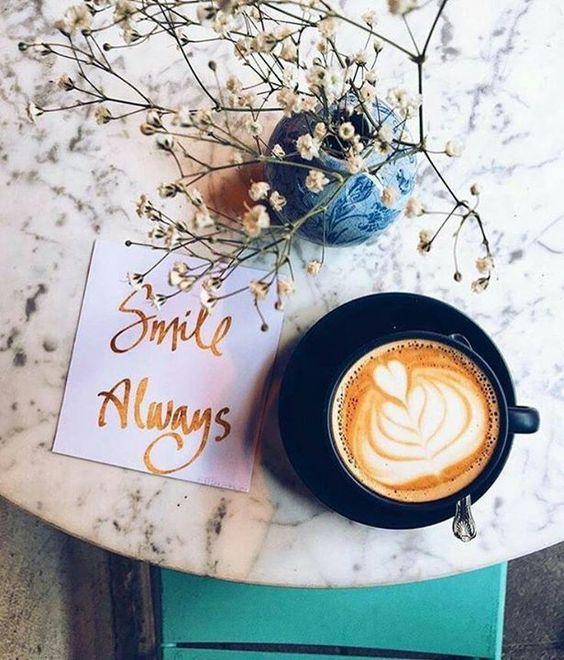 L'un des meilleurs remèdes contre les matins gris  Bonjour !