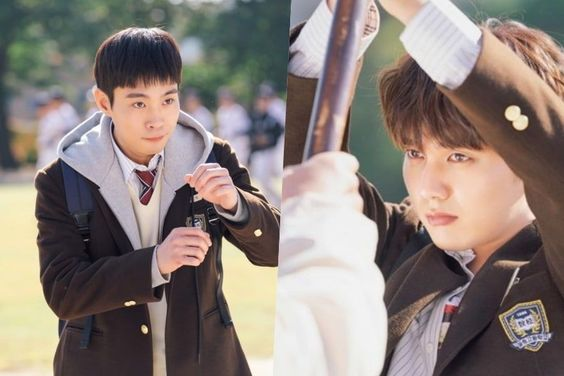 """Kim Dong Young And Yoo Seung Ho Bond Over Embarrassing But Tough Situation In """"My Strange Hero"""""""
