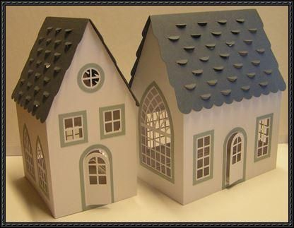 3d House Free Building Paper Model Download Http Www