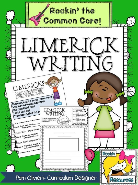Help writing a limerick poem
