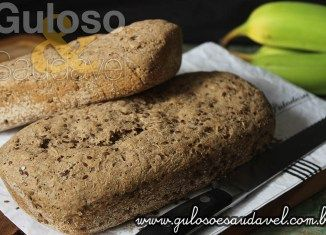 Pão Integral de Biomassa com Linhaça