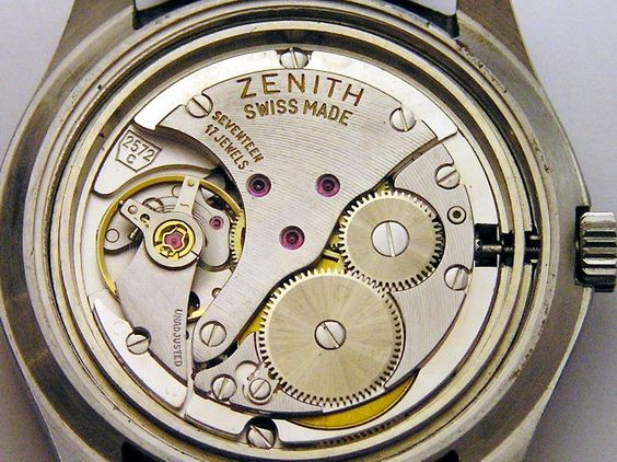 Zenith SURF Vintage Watch Caliber 2572C