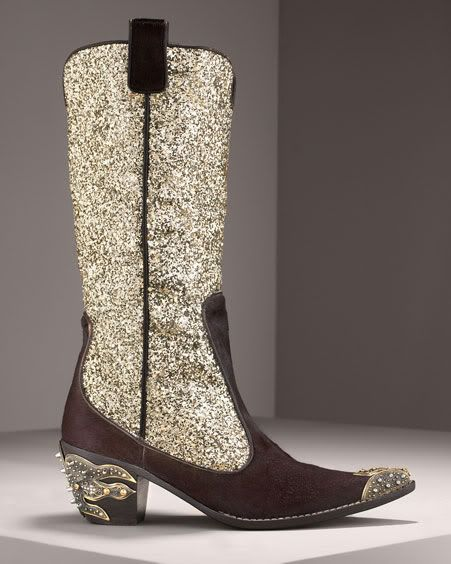 Sparkly Cowgirl Boots - Boot Hto