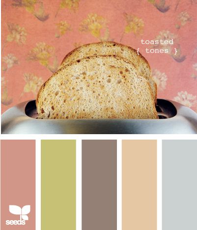 Love these colors! Great for fall!