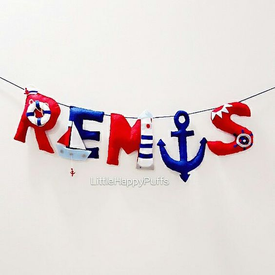 Nautical theme banner