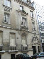 Hôtel Baconnier (1912) 3, rue Alfred-Dehodencq Paris 75016. Architecte : Du Bois d'Auberville