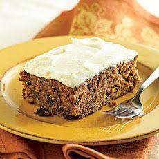 Applesauce Cake with Cream Cheese