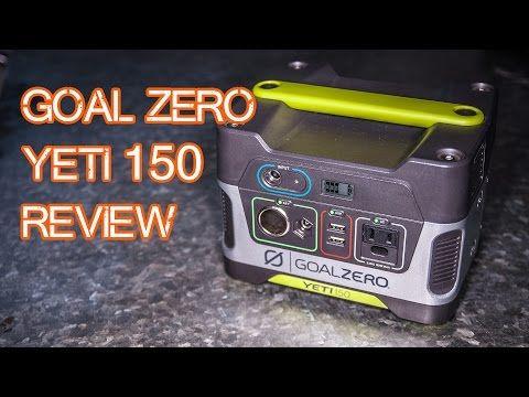 Batterie Goal Zero Yeti 150 Batteries Auxiliaires Equipement De Survie Solar Generator Solar Technology Solar Power