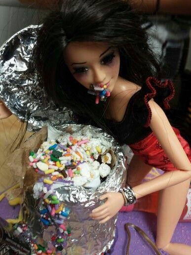 Drunk Barbie Cake Barbie Detail Homemade Drunk Barbie