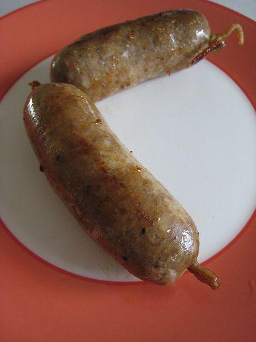 Pork and bacon sausage recipe