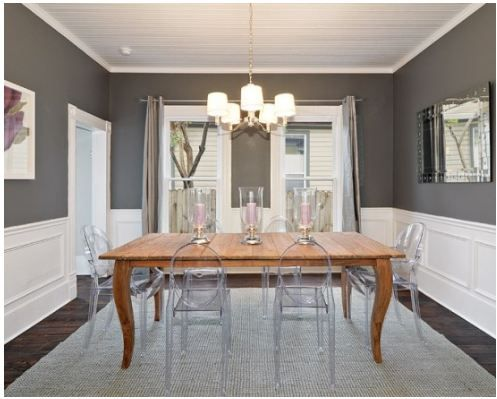 Perfect Benjamin Moore Dining Room Blue Colors