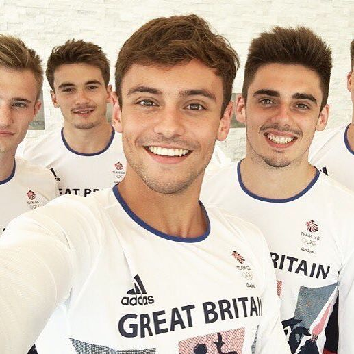 Hello fittys #teamgb#divers#swimmers#tomdaley#fit#look#beautiful#comeongb#rio2016#ollympics