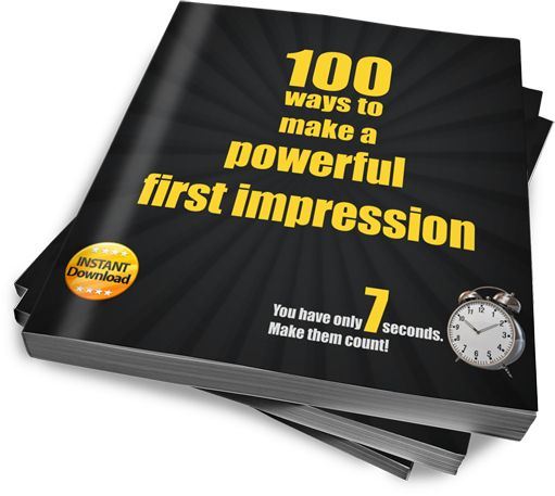 Download your free copy of our e-Book: 100 Ways to make a powerful first impression #imageconsulting #personalbranding #ebook