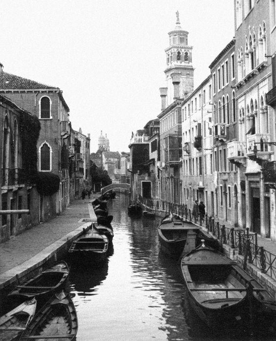 Canal - Venice, Italy [1869].