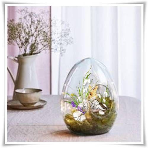 wielkanocne szklane jajko