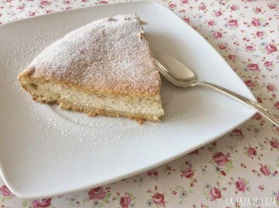 Prueba esta suculenta tarta cuya receta comparte con nosotros la autora del blog LA TAZA DE LOZA.: