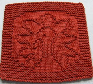 Free Knitting Pattern Turkey Dishcloth : Free Knitting Pattern - Dishcloths & Washcloths : Gobble! Cloth KNITTIN...