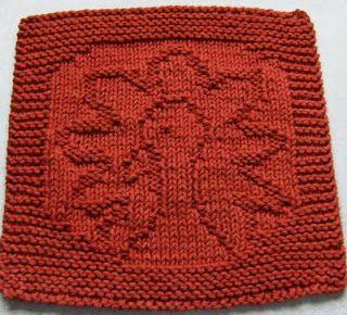 Free Knitting Pattern Turkey Dishcloth : Free Knitting Pattern - Dishcloths & Washcloths : Gobble! Cloth KNITTIN...