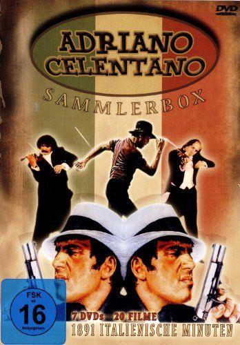 Adriano Celentano - DVD BOX mit 20 seiner populärsten Filme: Amazon.de: Adriano Celentano, Ornella Muti, Renato Pozzetto, Eleonora Giorgi, d...