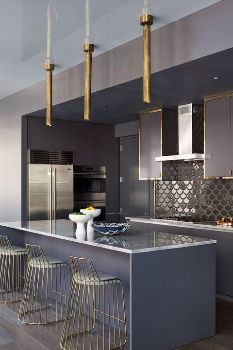 Stylish Kitchen Color Ideas To Lift Your Cooking Mood Stylish Kitchen Color Ideas Stylish Kitchen Sleek Kitchen Modern Kitchen