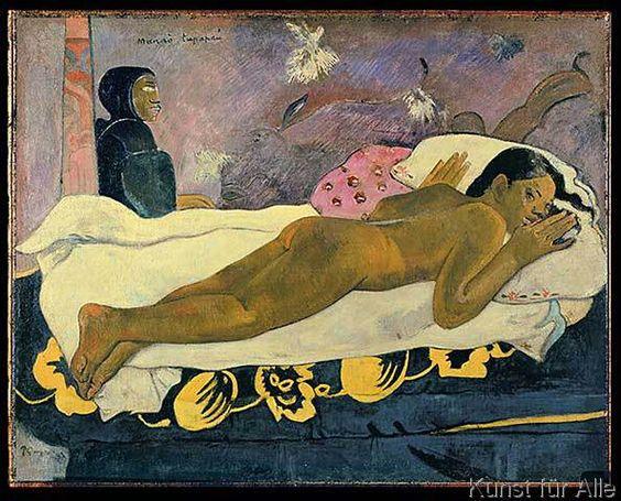 Paul Gauguin - Manao Tupapau , 1892