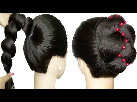 Latest Classic Juda For Thin Hair Very Easy Hairstyle Cute Hairstyle Party Hairstyle Y Very Easy Hairstyles Hairstyles For Thin Hair Cute Hairstyles