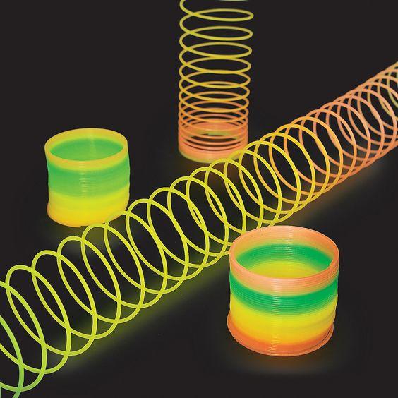 Rainbow Glow In The Dark Magic Springs Orientaltrading Com Slinkies 11 99 The Somewhat True