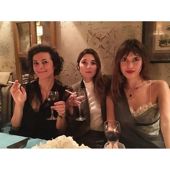 """""""With my favorites French girls  @garancedore @loljacobs"""" Photo taken by @jeannedamas on Instagram, pinned via the InstaPin iOS App! http://www.instapinapp.com (03/02/2016)"""