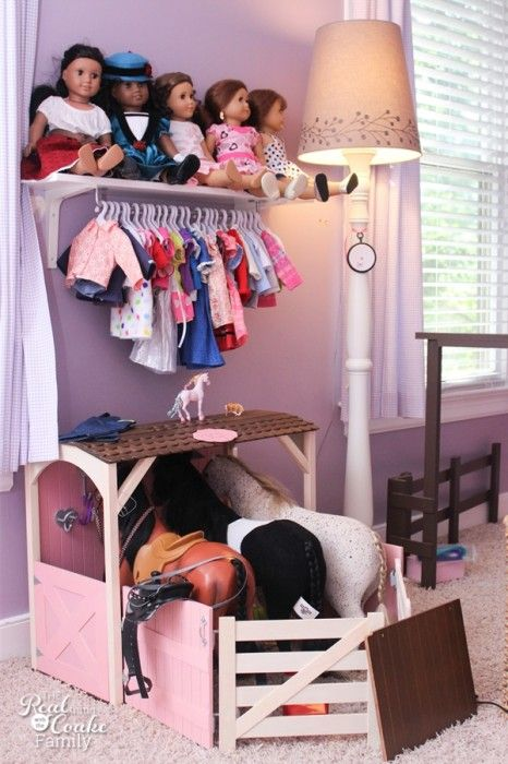 Girls bedroom ideas ~ Moving girls from sharing a room to their own rooms...a work in progress. #Girls #Bedroom #Decorating #RealCoake: