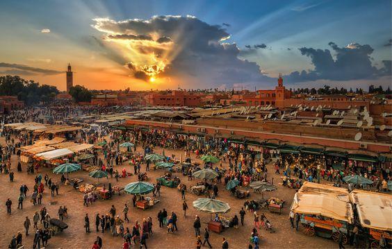Marrakesh, Marrocos.