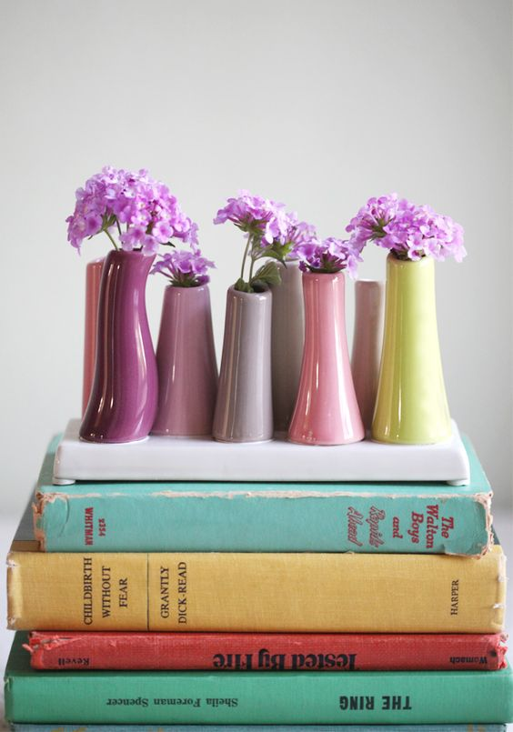 Madison Tube Vase By Chive In Multicolor