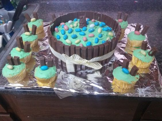 I made this for Easter with my cousin so delicious!!