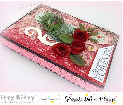 HappyMomentzz crafting by Sharada Dilip: Valentines/LOVE waterfall album