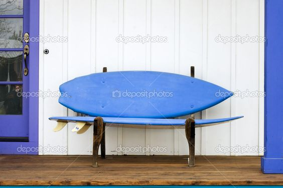 Surfboard Bench — Foto Stock #2293357