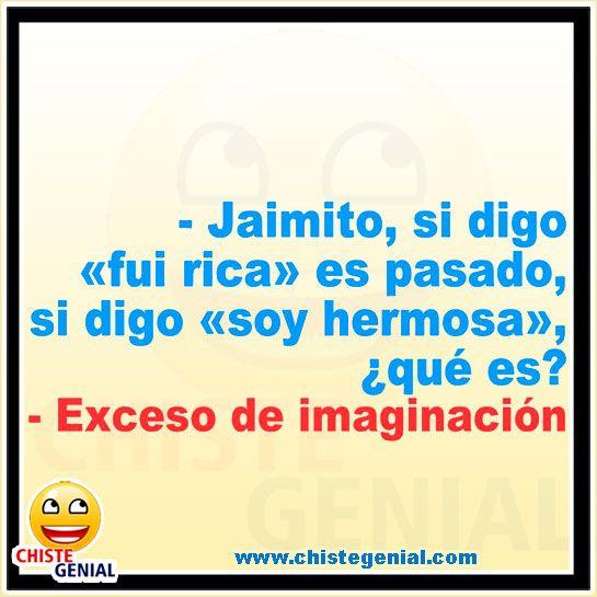 Chistes De Jaimito Exceso De Imaginación Profesora Chistes Humor Chistegenial New Memes Pepito Jokes Funny Memes