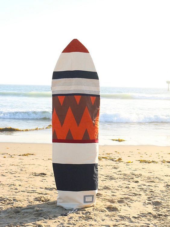 By Purks & Co. Limited edition in collaboration with Free People Patchwork Surfboard Bag at Free People Clothing Boutique