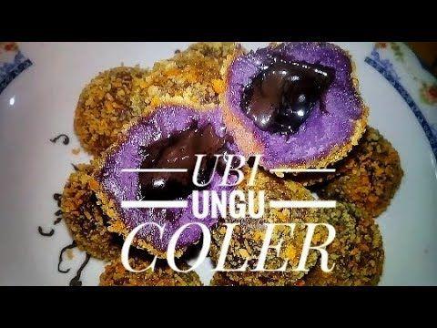 Resep Bola Ubi Ungu Lumer Oleh Mutiara Damani Resep Resep Ubi Makanan Minuman