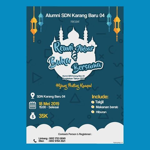 Background Ramadhan Bukber