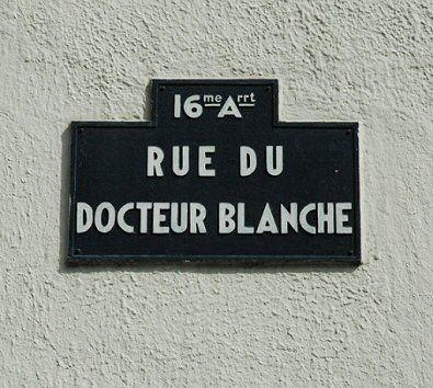 La rue du Docteur-Blanche  (Paris 16ème)