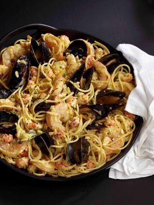 Spaghetti al Farouk recipe