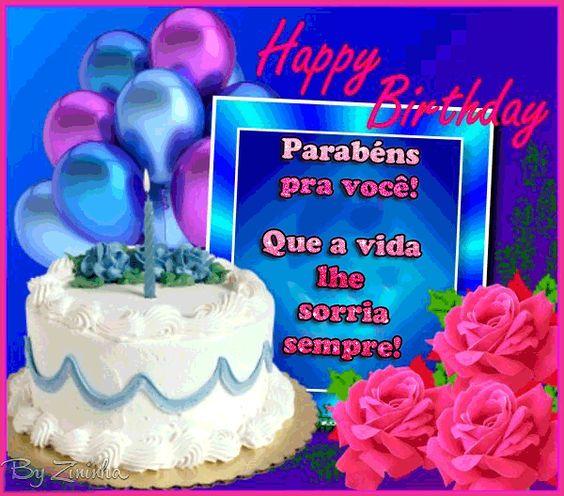 Mensagens Lindas: Feliz dia, Feliz Aniversário