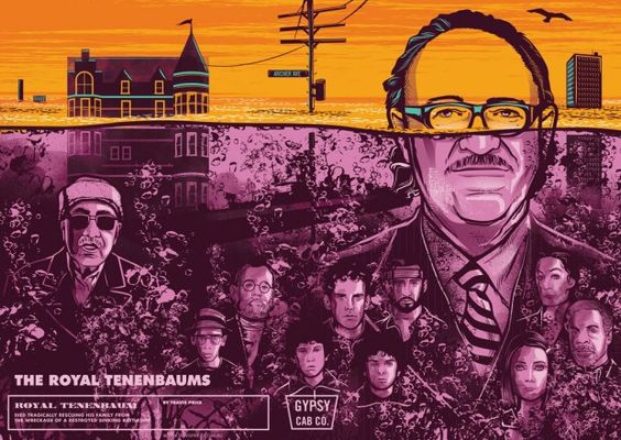 The Royal Tenenbaums by TRAVIS PRICE