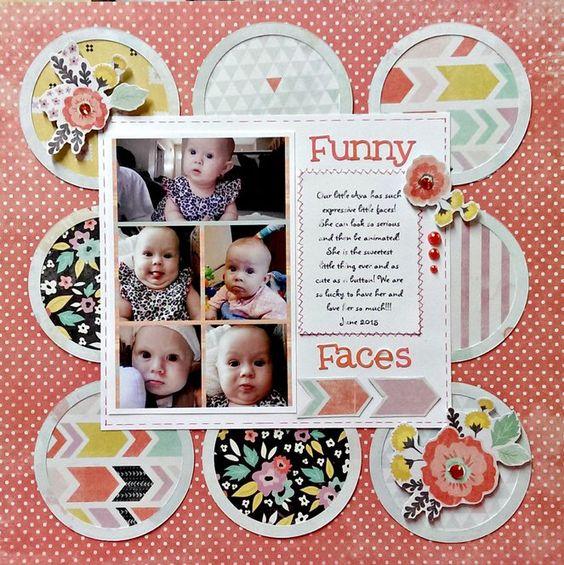 Funny Faces - Scrapbook.com