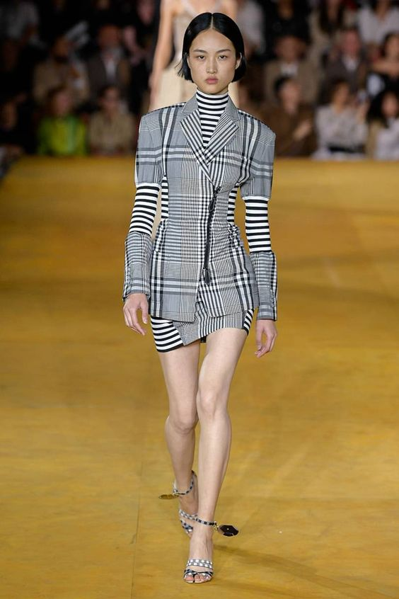 Burberry Check Fashion :SpringSummer2020
