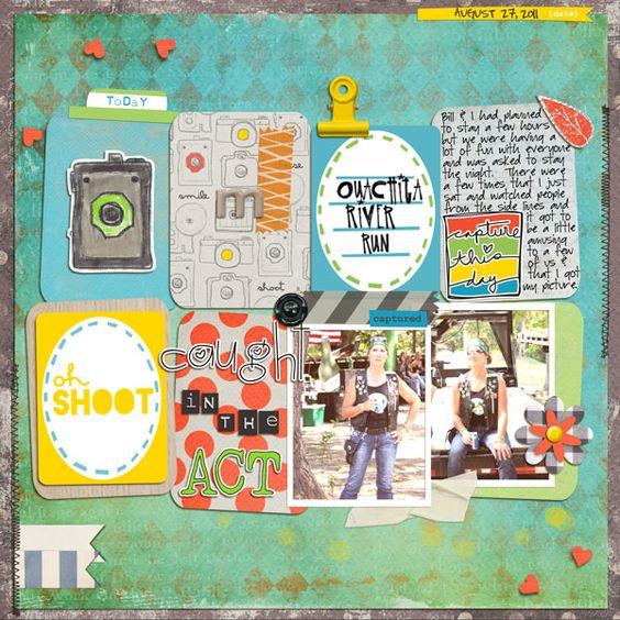 2 photos + journal cards