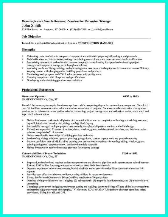 resume-examplegif (775×1016) Resume Templates Format and - chemical operator resume