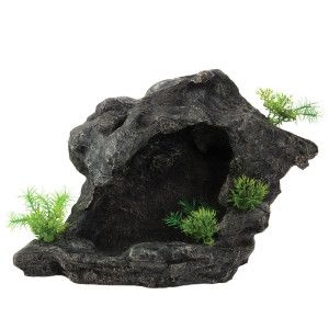 Cats plays and caves on pinterest for Fish tank caves