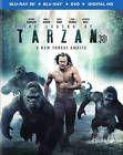 Legend of TARZAN 3D BluRay/DVD/Digital HD UltraViolet 2016 Movie MARGOT ROBBIE