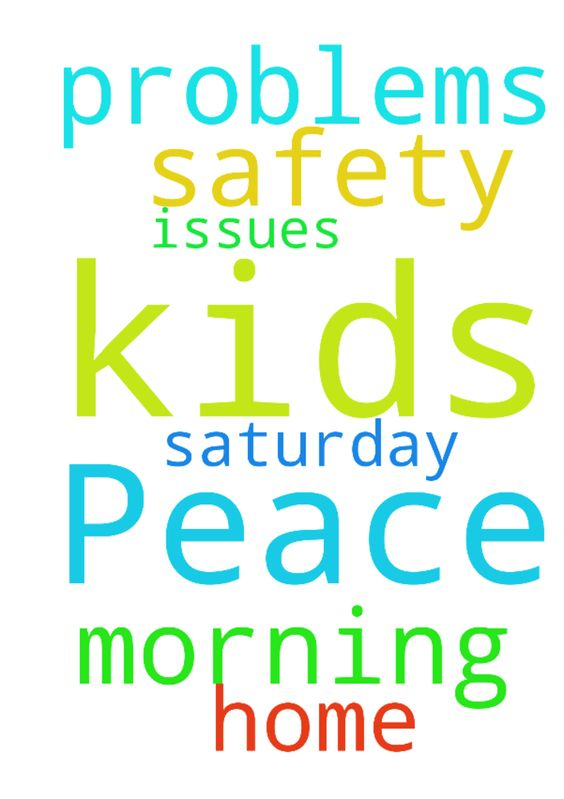 Peace and safety -  Please pray that my kids are home by 9am Saturday morning with no problems or issues  Posted at: https://prayerrequest.com/t/cAs #pray #prayer #request #prayerrequest