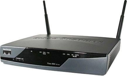 Cisco 871W-G-E(A)-K9 Настройка Wi-Fi роутера Cisco 871W-G-E(A)-K9